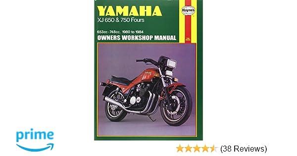 Yamaha xj650 750 8084 haynes repair manuals haynes yamaha xj650 750 8084 haynes repair manuals haynes 9781850103530 amazon books fandeluxe Gallery
