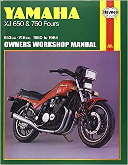 Yamaha XJ 650 and XJ 750 Fours Owners Workshop Manual, No ... on