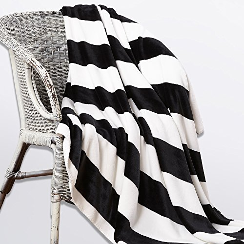 NTBAY Minimalism Series Throw Blankets Double-layered Flanne