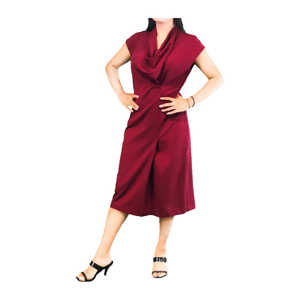 569e8fdc1e0 Ithika Ethical Party Cocktail and Dinner Midi Dresses Also Available in Plus  Sizes at Amazon Women s Clothing store