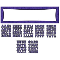 "Amscan Pretty Customizable Giant Party Sign Banner Decoration, 65"" x 20"", Purple"