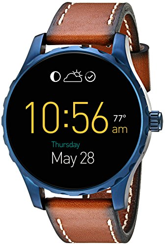Price comparison product image Fossil Q Marshal Gen 2 Touchscreen Brown Leather Smartwatch