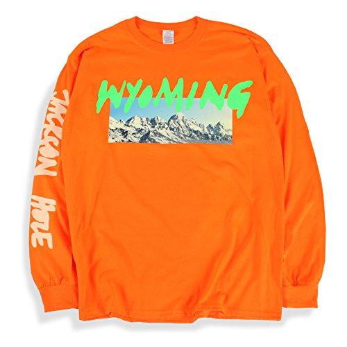 Kanye West Ye Long Sleeve T Shirt Wyoming Listening Party Orange