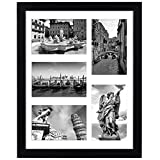 Americanflat 11x14 Collage Picture Frame in Black