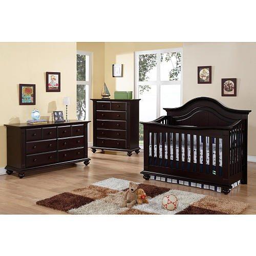 Amazon Com Baby Cache Melbourne Lifetime Crib Espresso Baby