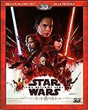 STAR WARS THE LAST JEDI (Star Wars: Los Últimos Jedi) -BLU-RAY 3D- (English & Spanish Audio and Subtitles) IMPORT