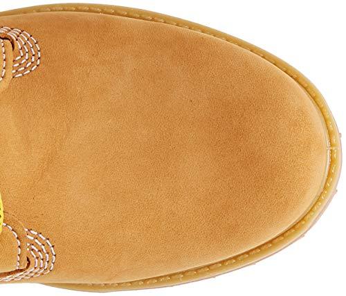 Timberland Damen 6 Zoll Premium wasserdicht Stiefel, Gelb (Wheat Nubuck), 38 EU 5
