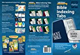 Tabbies Silver-Edged Bible Indexing Tabs, Old & New Testament, 80 Tabs Including 64 Books & 16 Reference Tabs (58339), Silver-Edge
