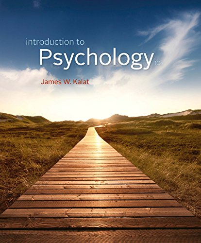 Kalat's Introduction to Psychology, 10th Edition plus 6-months instant access to MindTapTM Psychology. Pdf
