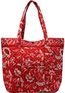 product image for Large Square Bottom Tote - Burnt Ruby