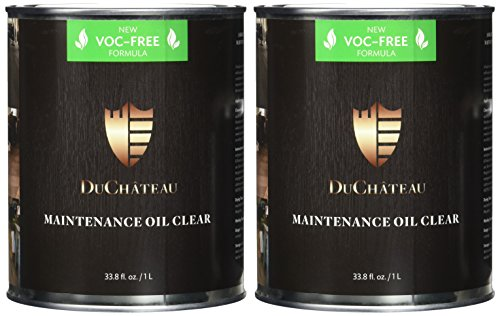 DuChateau Floors Maintenance Oil Clear 1 Liter (Pack of 2) by DuChateau (Image #1)