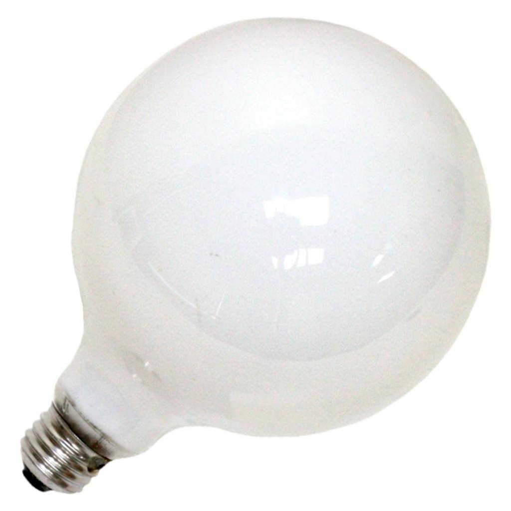 Ge Decorative G40 Globe Bulb 100W 1260 Lumens Med Base White
