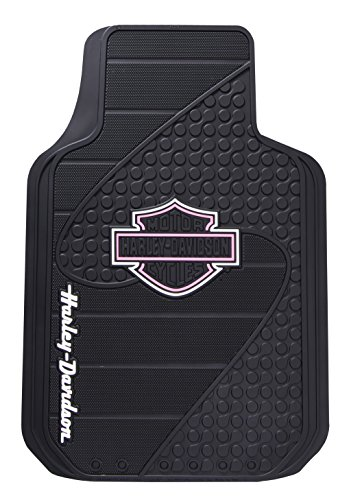 Plasticolor Universal Fit Harley Factory B&S Pink Floor Mat