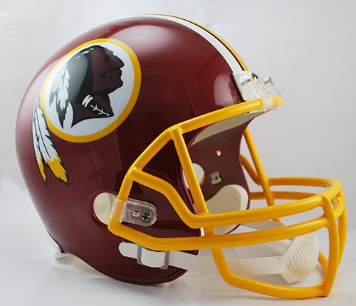 (Washington Redskins Riddell Full Size Deluxe Replica Football Helmet - New in Box)