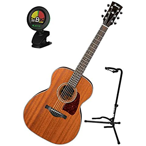 IbanezAC240PN Artwood Grand Concert Acoustic GuitarOpen Pore w/ Stand and Tuner(Ibanez Ac240)