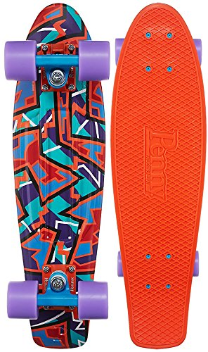 amazon com penny fresh prints nickel complete skateboard spike