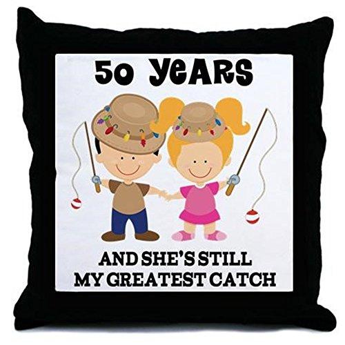 50th Anniversary Pillow - 9