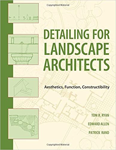 Book Detailing for Landscape Architects: Aesthetics, Function, Constructibility