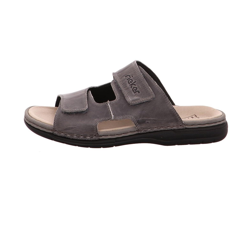 Mens-Pantolette Grau 600120-9