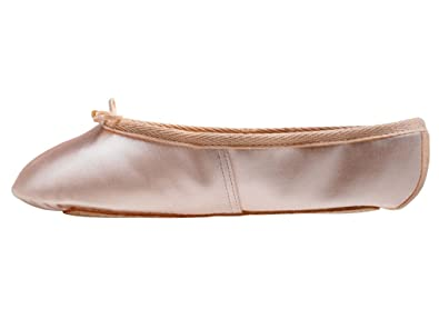 121945aace5f Katz Dancewear Pink Satin Full Sole Dance Ballet Shoes Childs Adults Girls  Ladies Made