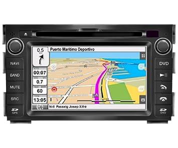 "2DIN 6,7"" KIA CEED y KIA VENGA: NAVEGADOR GPS, MANOS LIBRES"