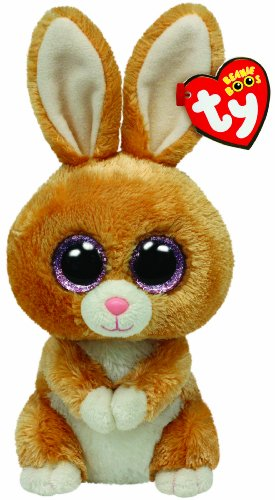 Ty Beanie Boos Carrots Brown Bunny -
