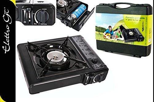 Fornello a gas in valigetta cucina campeggio valigia portatile da ...