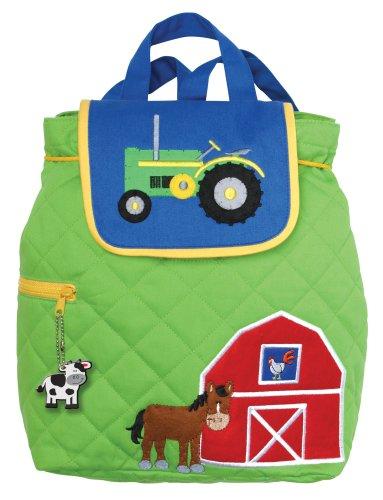 Stephen Joseph - Children's Quilted Backpack - Farm