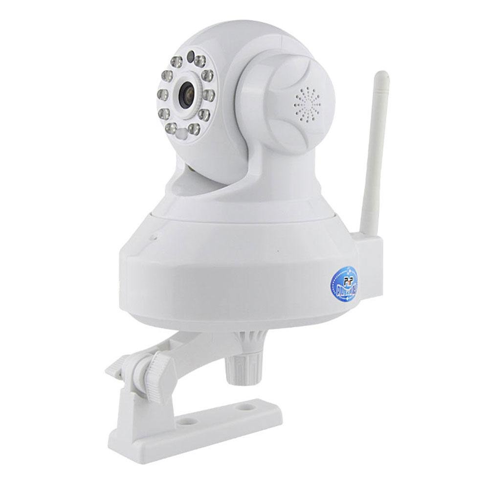 Teepao Internet Security Camera, Home Security Camera Indoor Support Pan/Tilt/Zoom 720P WiFi IP Camera Night Vision PnP Servier Cluster