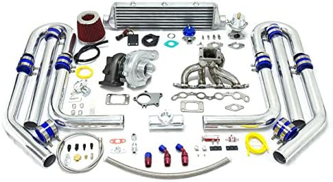 High Performance Upgrade T04E T3 13pc Turbo Kit - 4A-GE Engine
