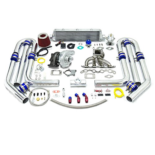 High Performance Upgrade T04E T3 13pc Turbo Kit - Toyota 4A-GE Engine (Toyota 4age Engine compare prices)