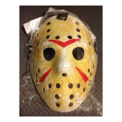 Friday The 13th Hockey Mask Halloween Jason vs Freddy Costume Movie]()