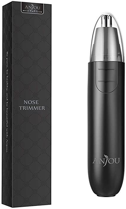 Cortapelos Nariz y Oreja - Profesional Nose Hair Trimmer con LED ...