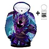 Unisex 3D Print tnite Hoodie Sweatshirt Men Women Teen Boys Girls (Give A tnite Necklace)