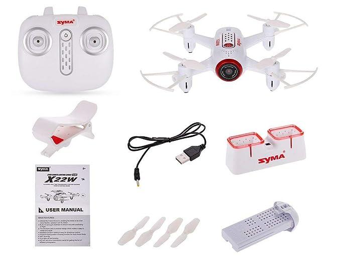 Drone RC Quadcopter de Control Remoto - Drone con Wi-Fi HD Cámara ...