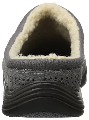 Grasshoppers Womens Haven Clog Fashion Sneaker Steel Grey