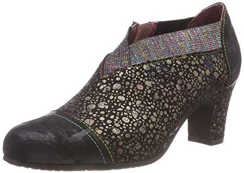 Para Elodie Mujer Noir De Zapatos 02 Laura Vita Negro noir Tacón xqnaCYwUw5