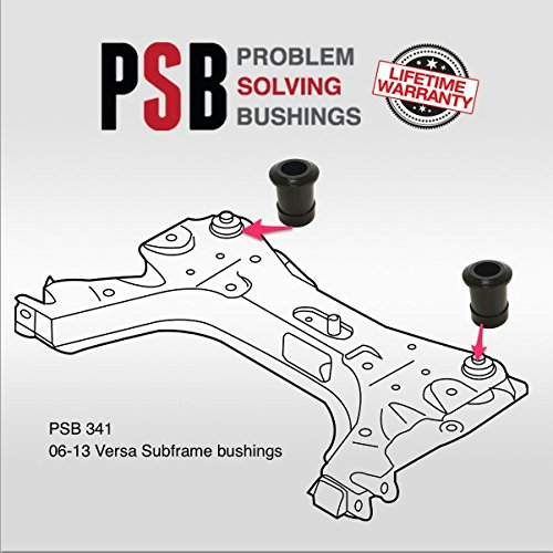Amazon.com: Front Subframe Crossmember Poly Bushings fits: 06-13 ...