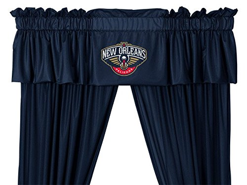 (Sports Coverage Valance Pelicans)
