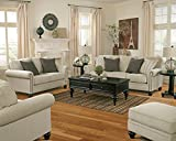 Ashley Furniture Signature Design - Milari Sleeper Sofa - Queen - Bi-fold Mattress - Linen White