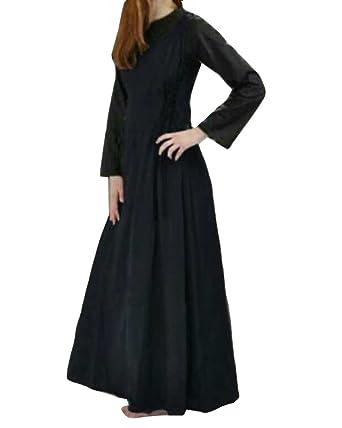 en gros vente chaude pas cher détaillant Robe sans Manches Paysanne Style Médiéval Halloween Gothique Parti Costume  Déguisements Casual Robe A-Ligne Robe