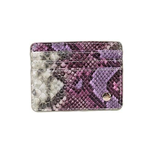 Stephanie Johnson Java Slim Card Holder, Plum ()