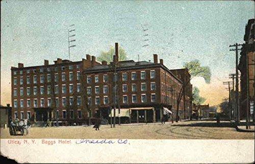 baggs-hotel-utica-new-york-original-vintage-postcard