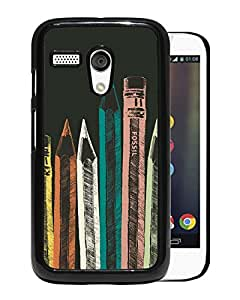 Unique And Fashionable Designed Cover Case For Motorola Moto G With Fossil 23 Black Phone Case