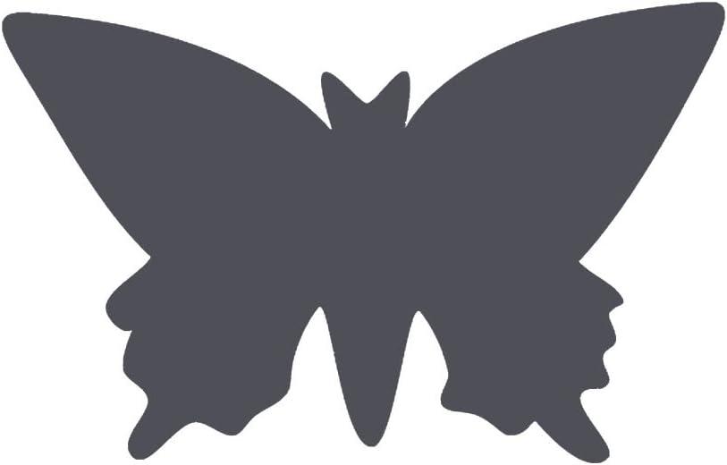 L zum Basteln mit Papier Maxi Stanzer Ausgestanztes Motiv 35,2 x 21,7 mm Motivlocher aus Metall und Plastik Vaessen Creative Motivstanzer Schmetterling 3