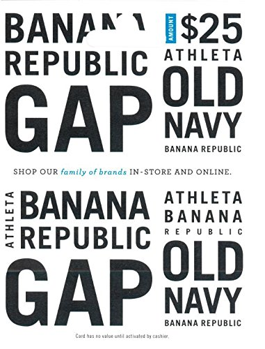 Gap Options (Multibrand) $25 Gift Card from GAP