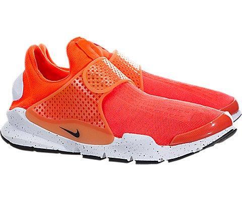 fa37809e4733 Galleon - Nike Men s Sock Dart SE Total Crimson Black White Running Shoe 12  Men US