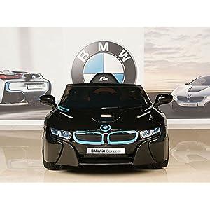 BMW-i8-12V-Kids-Ride-On-Battery-Powered-Wheels-Car-RC-Remote-Black