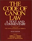 The Code of Canon Law a Text and Commentary, Study Edition