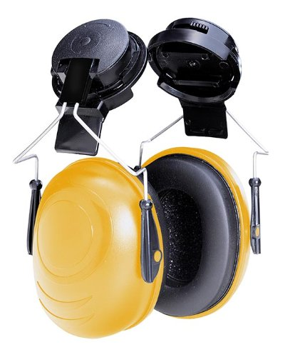 Tasco 2551 Sound Star Cap Mounted Earmuffs, NRR=24, Black